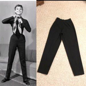 Audrey Hepburn style VTG high waist Talbots pants
